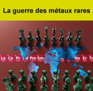 """Conférence """"La guerre des métaux rares"""""""
